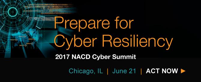 2017 NACD Cyber Summit